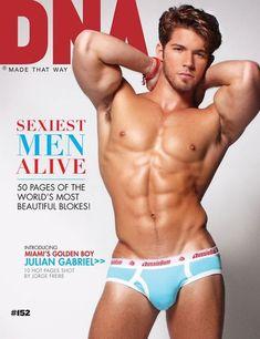 DNA's Sexiest Men Alive, Featuring Julian Gabriel