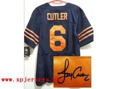 Nike Chicago Bears 50 Shea McClellin Blue With Orange Number NFL ...