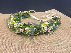 Wedding Party: Flower Girl Floral Crown Floral Crown, Flower Girls, Big Day, Wedding Flowers, Wreaths, Party, Decor, Dekoration, Flower Crown