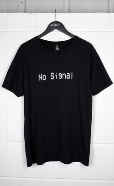 No Signal T-Shirt #disturbiaclothing disturbia metal silver alien goth occult grunge alternative punk