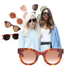 Lunettes de soleil femme été 2018   40 paires de lunettes de soleil pour  femme tendance pour l été 2018 - Elle ce15f69be8d0