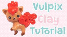 Vulpix Clay Tutorial | Pokemon Collab with Polymomotea
