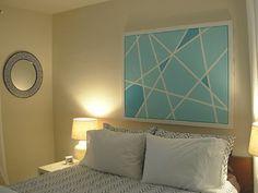 Chic Coles: DIY: Geometric Art