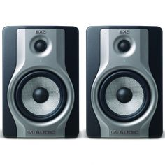 """M Audio BX5 Carbon (Pair) Studio #Monitor @ INR 23250. The BX5 Carbon studio monitor helps you track, monitor, and mix with confidence by providing accurate sound and dynamic acoustic control. Equipped with a 5"""" woven Kevlar low-frequency driver and 1"""" natural silk dome tweeter, the BX5 Carbon delivers a flat frequency response, enhanced stereo imaging, and increased clarity for authentic mixing in a space-saving design."""