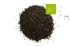 Assam Hathikuli GFBOP Bio. Ce thé bio est cultivé dans un jardin près du célèbre parc national du Kaziranga, lieu mythique et berceau du « rhinocéros à corne »  symbole de la région d'Assam.  La meilleure récolte est celle du second flush (juin).