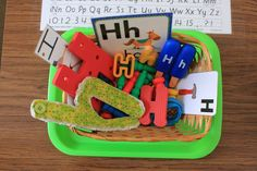 Tot School with Bo {Letter Hh} Letter H Activities, Toddler Activities, Teaching Abcs, Alphabet Crafts, Letter G, Busy Bags, Learning Letters, Tot School, Letter Recognition