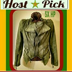 """5X HP """"WELCOME TO JAMROCK"""" For my Empresses. I love Damian Marley and bought this to get back to my RASTA ROOTS but....gained a few pounds and NEVER got to wear it. :( It's extremely fitted for flattering your curves. A great fully lined high quality military style jacket. NOT ELIGIBLE FOR BOGO. LOOKBOOK Jeans"""