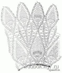 Crochet Doilies Diagram Tablecloths Beautiful 38 Ideas For 2019 Crochet Doily Diagram, Crochet Motif, Crochet Doilies, Crochet Baby, Knit Crochet, Pineapple Crochet, Pineapple Pattern, Doily Patterns, Crochet Patterns