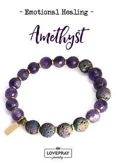 Amethyst Essential Oil Diffuser Bracelet. #aromatherapy #bracelets