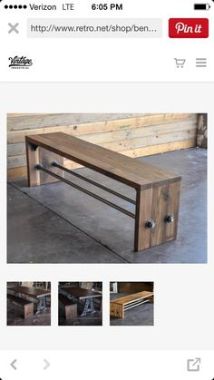 Lady Goats: New DIY Plans   The Shelby Bench