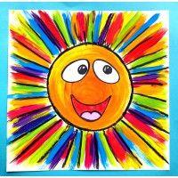 Rayons de soleil ! Arts plastiques