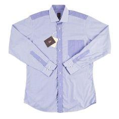 Cool Awesome $278 NWT Mens ROBERT TALBOTT Gingham Plaid Trim Fit Cotton Dress Shirt M 15 1/2  2018