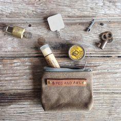Peewee busta: Il nostro più piccolo sacchetto nel tartufo di Peg e Awl