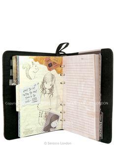 Gorjuss Travel Journal - beautiful! Love this.....