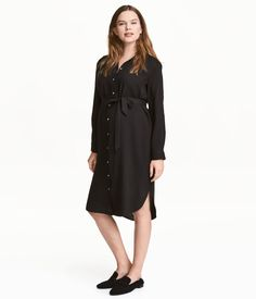MAMA Blusenkleid   Schwarz   Damen   H&M DE