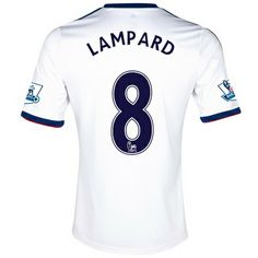 2013-2014 Chelsea Adidas Away Football Shirt 8 Lampard http   www. e98dcc45ef44a