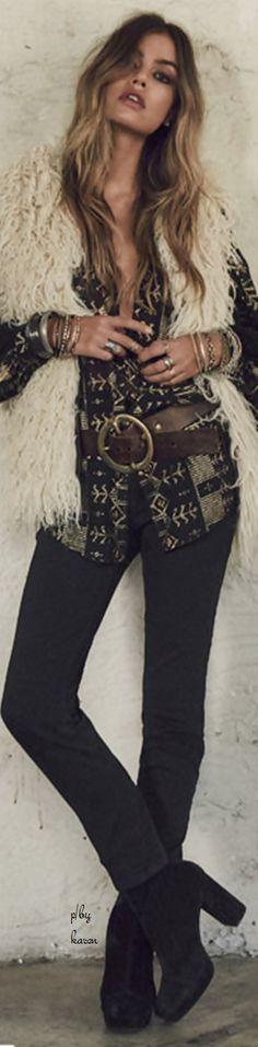 » bohemian fall & winter style » gypsy soul » love of fringe » elements of bohemia »