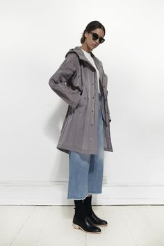 Shop Fishtail Parka from MHL By Margaret Howell at La GarÁonne. La ...