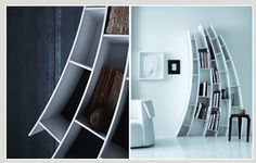 Primo Quarto bookshelves by Saba Italia SpA, sabaitalia.it