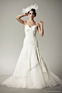 Matthew C wedding dress
