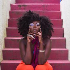 Brown Skin Melanin Black Woman Natural Hairstyles- Black Women KinkyCurlyRelaxedExtensionsBoard - All About Black Is Beautiful, Black Girl Magic, Black Girls, Style Afro, Pelo Afro, Dark Skin Girls, Pelo Natural, Natural Hair Styles For Black Women, Black Girl Aesthetic