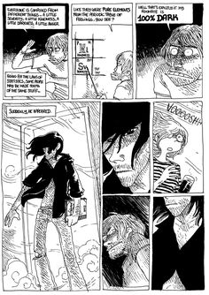 Darkness - A 24 Hour Comic by boulet. I recommend reading the whole thing.