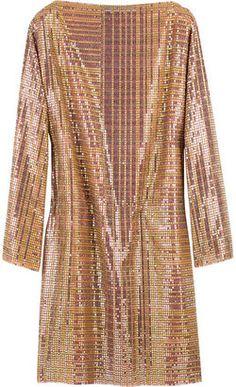 ShopStyle: Missoni Veronique stacked-paillette dress