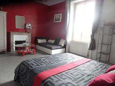 Spacieuse et lumineuse chambre pour 2 personnes dans les chambres d'hôtes du haut anjou à thorigne d'Abou 49220
