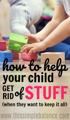Decluttering with a sentimental child can result in lots of tears and frustration! Use these tips to make everything go more smoothly - you never know, your sentimental child could become your biggest advocate in minimalism!