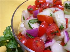 Healthy Cucumber-Tomato Salad Recipe on Yummly