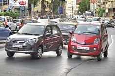 We find out how the new Tata Nano AMT fares against the Maruti Alto K10 AMT