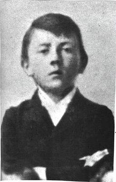 Adolf Hitler as a boy