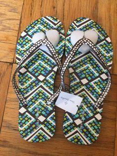 de1511aa20ce Vera Bradley Womens Flip Flops Size 7-8  fashion  clothing  shoes   accessories  womensshoes  sandals (ebay link)