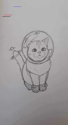 Cool Art Drawings, Pencil Art Drawings, Art Drawings Sketches, Doodle Drawings, Easy Drawings, Drawing Ideas, Drawing Art, Drawing Animals, Easy Cat Drawing