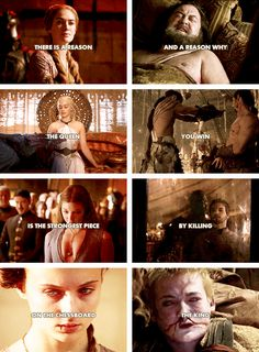 there is a reason the queen is the strongest piece on the chess board and a reason why you win by killing the king #asoiaf