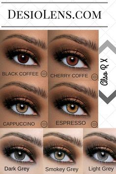 Desio Contacts Hazel Best Colored Eye Makeup