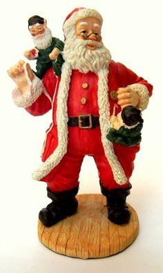 453f826daef Department 56 Santa with elves Figurine 5.25