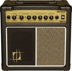 Randall Nuno Bettencourt Signature NB15 15W 1x6.5 Guitar Combo Amp Black (vis Musician's Friend)