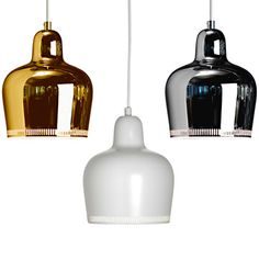 love these fixtures | Lighting Classics by Alvar Aalto