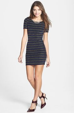 #Soprano                  #Dresses                  #Soprano #Glitter #Stripe #Body-Con #Dress #(Juniors) #Gold/ #Royal #X-Small  Soprano Glitter Stripe Body-Con Dress (Juniors) Gold/ Royal X-Small                                     http://www.snaproduct.com/product.aspx?PID=5367287