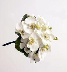 Ramo de novia con orquídeas phalaenopsis | Bourguignon Floristas
