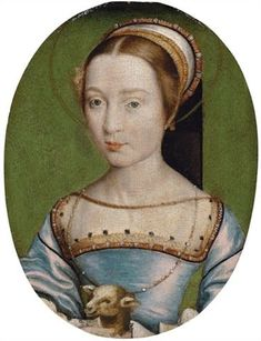 Claude de Valois,Queen of France (1499-1524) daughter of Louis XII of France and Anne,Duchess of Brittany,wife of Francis I of France by Corneille de Lyon