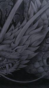 先週の竜の下絵 http://waca-jhi.hatenadiary.jp/entry/2014/03/05/105920