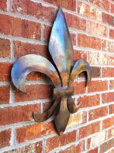Fleur De Lis Wall Decor