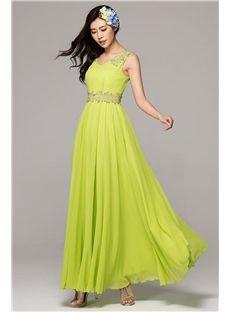 Bohemian Style Stunning Candy Color Chiffon Maxi Dress(5 Colors)