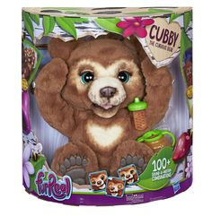 Fur Real Friends Cubby The Curious Bear Interactive Plush Toy, Ages 4 and Up: Amazon.co.uk: Toys & Games Toys Uk, Kids Toys, Interactive Toys, Top Toys, Bear Cubs, Cute Toys, Cute Bears, Real Friends, Animals