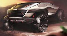 Jeep представил свою версию внедорожника будущего | AMSRUS