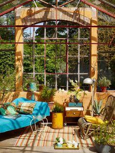 Lovely summer house at Mellby Klockaregård. From Hus & Hem.
