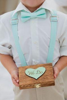 """""""We Do"""" ring bearer box!"""