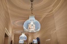 Plafoniere Vetro Di Murano Moderne : Plafoniera moderna in vetro di murano clover pl